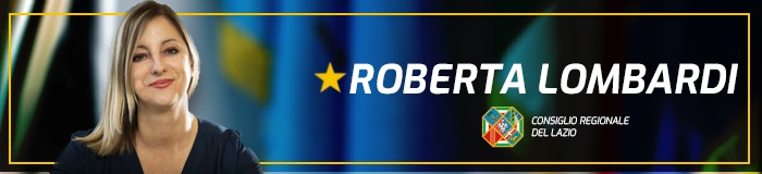 Consigliere Roberta Lombardi - Regione Lazio